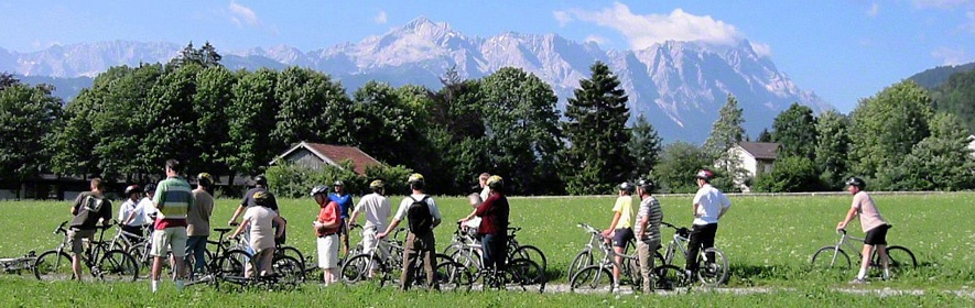 Mountainbiking an der Loisach