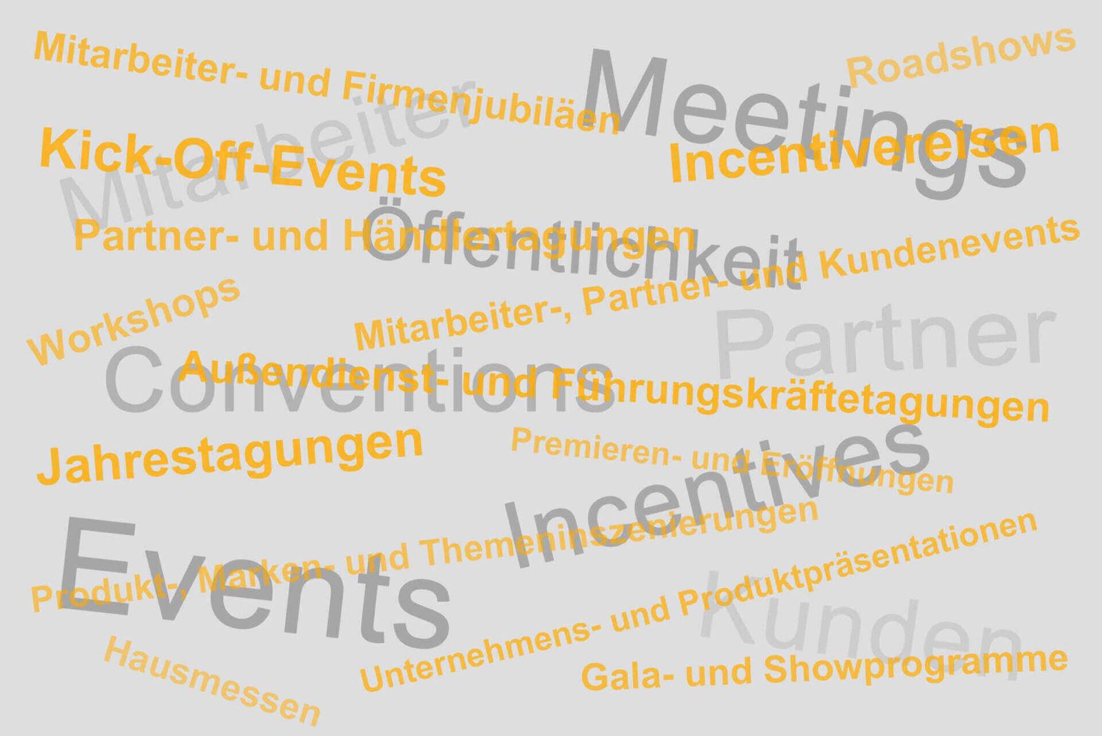 Angebotsspektrum holstein eventmarketing